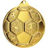 Medal 50 mm football, 1st place - gold MMC8850 1
