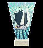 <span>Glastrophäe – Segelboot<span style='color:#ff0066; font-weight:800;'> - PRODUKTION BIS ZU 5 WERKTAGE</span></span> VL2-D/SAI-PW 4