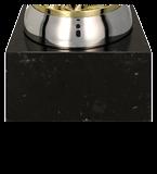 Metall-Pokal Gold/Silber MALIK 7124A 5