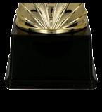 Gold & silver metal cup DRAGO 3139C 5