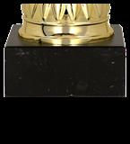 Gold metal cup ESTOR 4201C 5