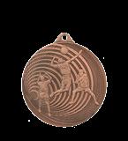 Медаль волейбольная стальная 70 мм MMC3073/B 11