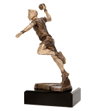 Resin figure - handball RFST2006/BR 1