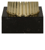 Gold plastic cup ODIS/running 7189C 5