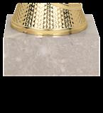 Кубок металлический золотой ROTANA  8323E 5