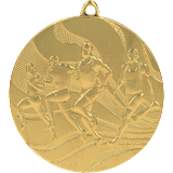 Medal 50 mm running, 1st place - gold MMC2350 1