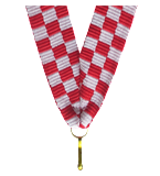 Ribbon 11 mm - Croatia V8-CRO 1