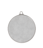Medal 50 mm football, 2nd place - silver MMC9750/S 12