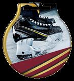 Stahl-Medaillen mit Aufdruck - Hockey  MC61/G/HOC 1