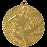 Medal 50 mm running, 1st place - gold MMC6350 1