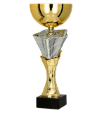 Gold – silver metal cup  4218 1
