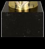 Кубок металлический золото-серебряный RAMIRA  8261F 5