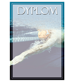 Paper diploma - swimming DYP117 1