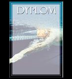 Papierdiplom  - Schwimmen DYP117 1