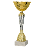 Gold – silver metal cup 9256 1