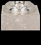 Кубок металлический серебряный RUBENS 8313H 5