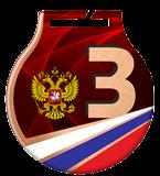 Medal stalowy z usługą Q - ROSJA MC61/B/RU2.3 2