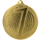 Steel Medal 70 mm, 1st place - gold   MMC3077 1
