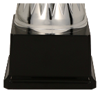Кубок металлический серебряно-синий DALIAS 3138C 5