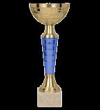 Gold & blue metal cup VEGA BL 9106G 2