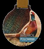 Medal stalowy - Vicekról polowania MC6002/G-S+/HUN1B 1