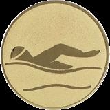 Aluminum emblem - swimming  D1-A9/G 1