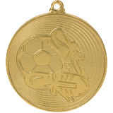 Medal 50 mm football, 1st place - gold MMC9750 1