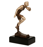 Resin figure - running (men) RTY3716/BR 1