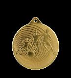 Steel medal football 70 mm, 1st place - gold   MMC3070/G 11