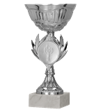 Silver metal cup 9246 1