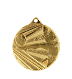 Medal 50 mm football, 1st place - gold  ME001/G 11
