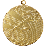 Medal 40 mm running, 1st place - gold MMC1740 1