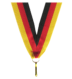 Ribbon 22 mm - black-red-yellow V2-BK/R/Y 1