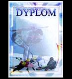 Papierdiplom  - Wintersporte DYP84 1