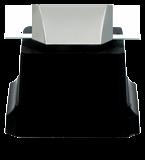 Plexiglass trophy on a plastic base - volleyball CP01/VOL 5