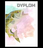 Papierdiplom  - Angelsport  DYP158 1