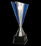 Metal cup silver-blue FABIS BL 4203 1