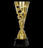 Gold metal cup 1066 1