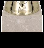 Кубок металлический золото-серебряный NITA 7157F 5