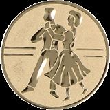 Aluminum emblem - dance D2-A24 1