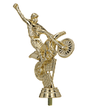 Plastic figure – MOTORCYCLIST F180/G 1
