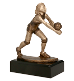 Resin figure -  volleyball RFST2016/BR 1