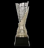 Gold & silver plastic cup SAURON G 9088E 2