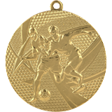 Medal 50 mm football, 1st place - gold MMC15050 1