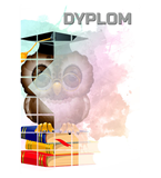 Paper diploma - owl DYP157 1