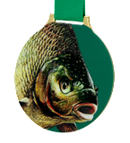 Steel medal FISHING - FOREST MC6002/G-S+/FIS1 1
