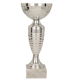 Кубок металлический серебряный RUBENS 8313H 2