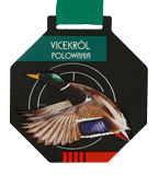 Steel medal - Vicekról Hunting - Duck MC6003/BK-S+/HUN1B 1