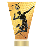 <span>Glastrophäe – Volleyball<span style='color:#ff0066; font-weight:800;'> - PRODUKTION BIS ZU 5 WERKTAGE</span></span> VL1/VOL 1