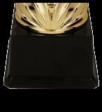 Gold & pink metal cup CIDRI 3135C 5